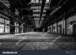industrial interior old factory building stock photo 152917313