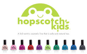 hopscotch kids non toxic kid safe nail polish review and giveaway
