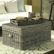 Wicker Trunk Coffee Table Wicker Trunk Coffee Table Medium Size Of Trunks As E Tables