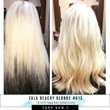 16 inch hair extensions customer before and after photos