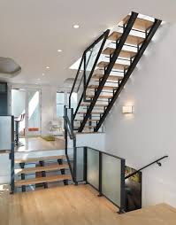 metal stairs with wood treads home design ideas and pictures