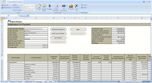 Aia G702 Excel Template Construction Contract Billing