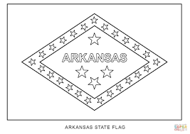 flag of arkansas coloring page free printable coloring pages