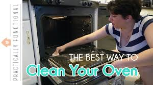 what is the best way to clean kitchen cabinets how to clean the inside of your stove ammonia gets the toughest grime without a ton of scrubbing