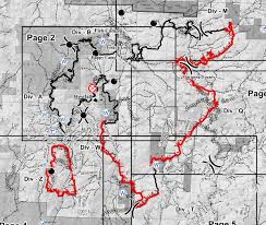 Wildfire Perimeter Map by Railroad Fire In Madera And Mariposa Counties Perimeter Map For