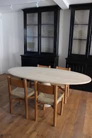 a stylish travertine marble oval centre or dining table 1970s a stylish travertine marble oval centre or dining table 1970s