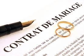 mariage clã en le contrat de mariage choix du régime matrimonial