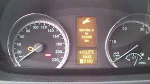 kasowanie inspekcji mercedes vito w639 oil service indicator light