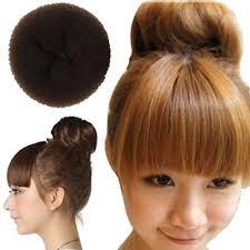 cool hair donut furling 3pcs retail hair styling donut bun maker ring style bun