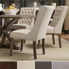 dining room comfortable wingback dining chair for modern dining all images