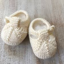 Rugged Bear Baby Shoes Baby Booties Knitting Project By Florence Merlin Knitting