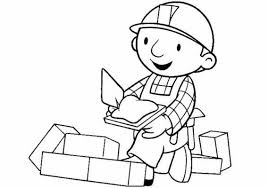 coloring bob builder pictures coloring pages