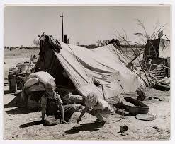 depression era depression era photo of children of unidentified migratory farm