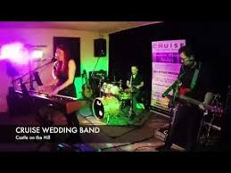 cruise wedding band castle on the hill cover cruise wedding band scotland