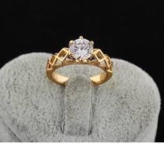 big diamond engagement rings 2017 2015 new 18k gold plated big diamond wedding rings for women
