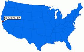 concord california map concord california city information epodunk