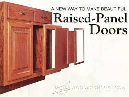 Make Raised Panel Cabinet Doors Raised Panel Doors Construction Doors And Woodworking