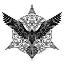 celtic raven tattoos designs celtic tattoos tattoos pinterest