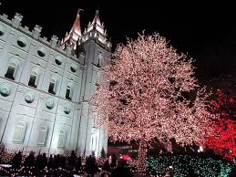temple square lights 2017 schedule the mesmerizing christmas display in utah with over 800 000