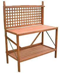 Interesting Composite Outdoor Furniture U2014 Amazon Com Foldable Potting Bench Garden U0026 Outdoor