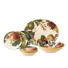 harvest fruit dinnerware collection williams sonoma table top