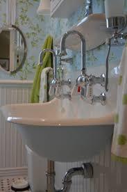 bathroom interior wall mount sink faucet vent ideas vintage