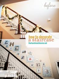 how to decorate a staircase staircase picture gallery}