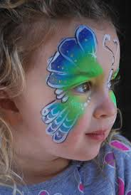 148 best face paint butterflies images on pinterest face