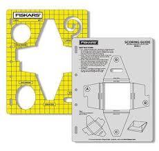 fiskars shapecutter shape template u0026 scoring guide box 1
