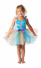 rubie u0027s my little pony rainbow dash tutu fairy fancy dress medium