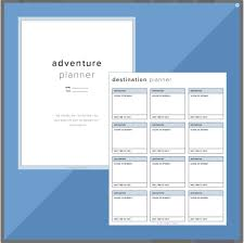 free trip planner template 10 itinerary template examples templates assistant the adventure planner is a best option for a worry free vacantion