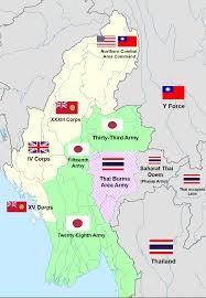Thailand World Map by Phayap Army Wikipedia