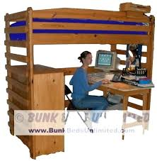 Bunk Bed Free Loft Bed With Desk Plans Bunk Bed With Desk Plans Loft Beds Plan