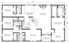 ranch style house floor plans house plans 4 bedroom farmhouse 4 bedroom 1 1 2 story house plans