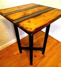 Reclaimed Wood Bistro Table Reclaimed Wood Pub Table Receive4 Club