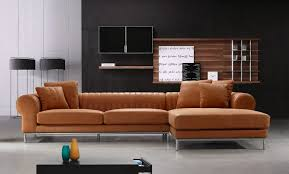 Full Top Grain Leather Sectional Sofa - Full leather sofas