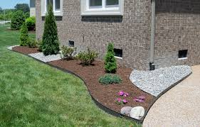 gravel driveway edging ideas diy stone patio home loversiq
