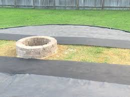 Gravel Fire Pit Area - diy fire pit and seating area 15 steps with pictures