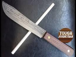 sharpening ceramic kitchen knives hickory 7 butcher knife honing sharpening with ceramic rod