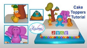 pocoyo cake toppers pocoyo cake toppers part 1 pocoyo and loula cómo hacer a
