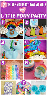 my pony birthday party ideas 12 must see my pony birthday party ideas catch my party