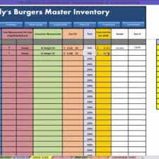 Restaurant Inventory Spreadsheet by Food Cost Inventory Spreadsheet