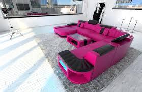 Ebay Sectional Sofa Big Leather Sofa Presto U Shaped Illuminated Sectional Led Ebay