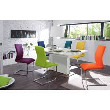 Colored Dining Chairs Herne Faux Leather Dining Chair