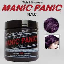 deep purple color manic panic classic crème hair color 4oz deep purple dream ebay