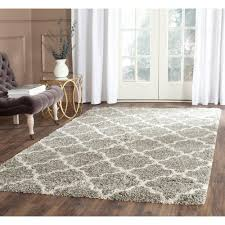 Indian Area Rugs Safavieh Hudson Shag Navy Ivory 7 Ft X 7 Ft Square Area Rug