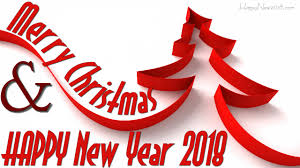 merry and happy new year 2018