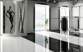 carrelage cuisine damier noir et blanc carrelage 80x80 poli blanc et noir durstone grés cérame rectifié