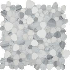 pebble mosaic tile arizona tile bathroom ideas