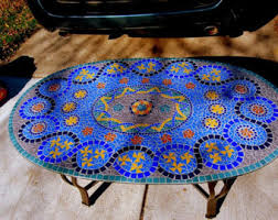Mosaic Patio Furniture by Perfect Mosaic Outdoor Side Table 30 By Dazzle Side Tables